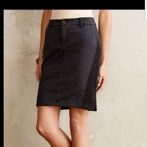 Anthro Pilcro skirt
